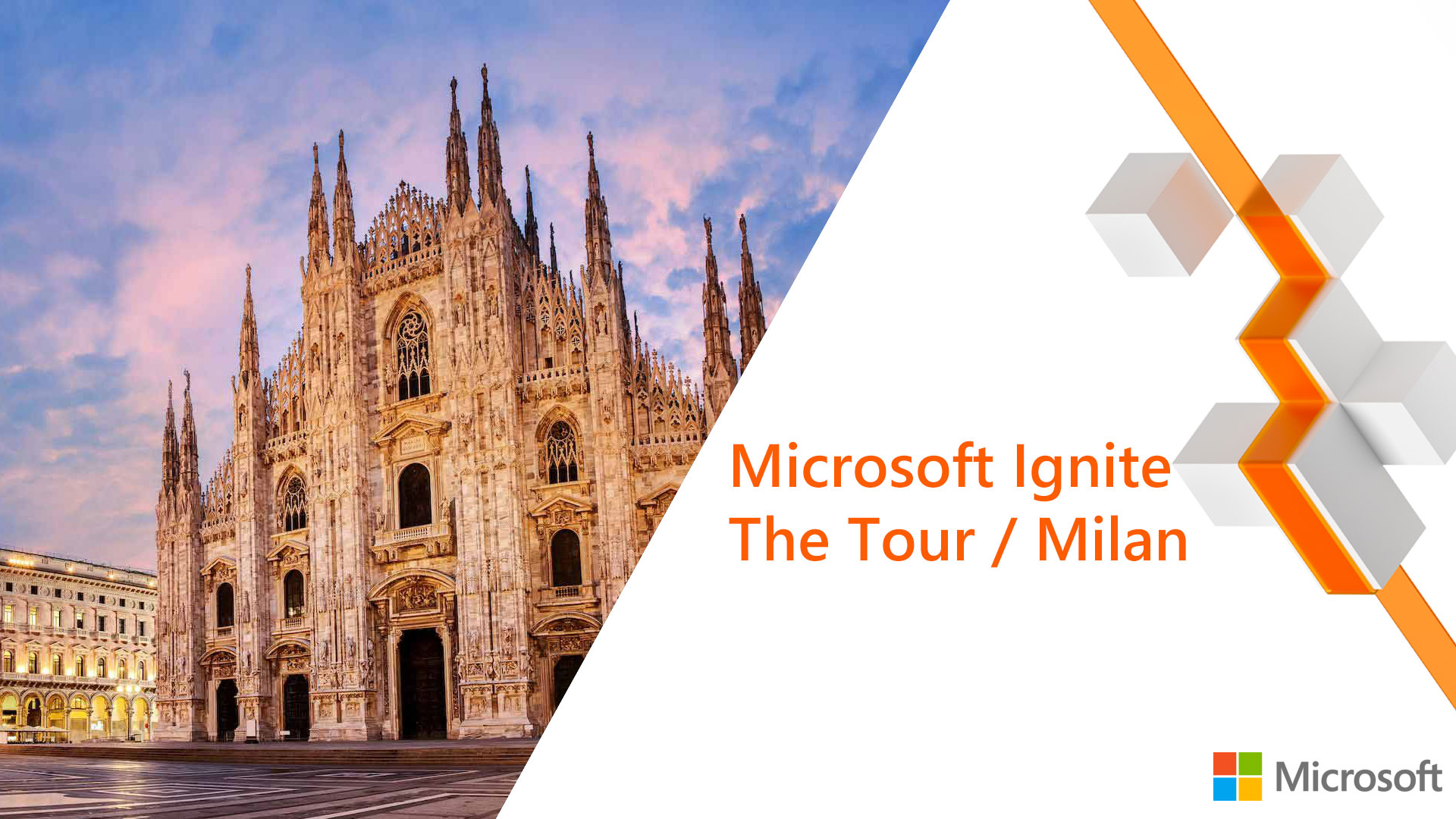 Microsoft Ignite The Tour Milan