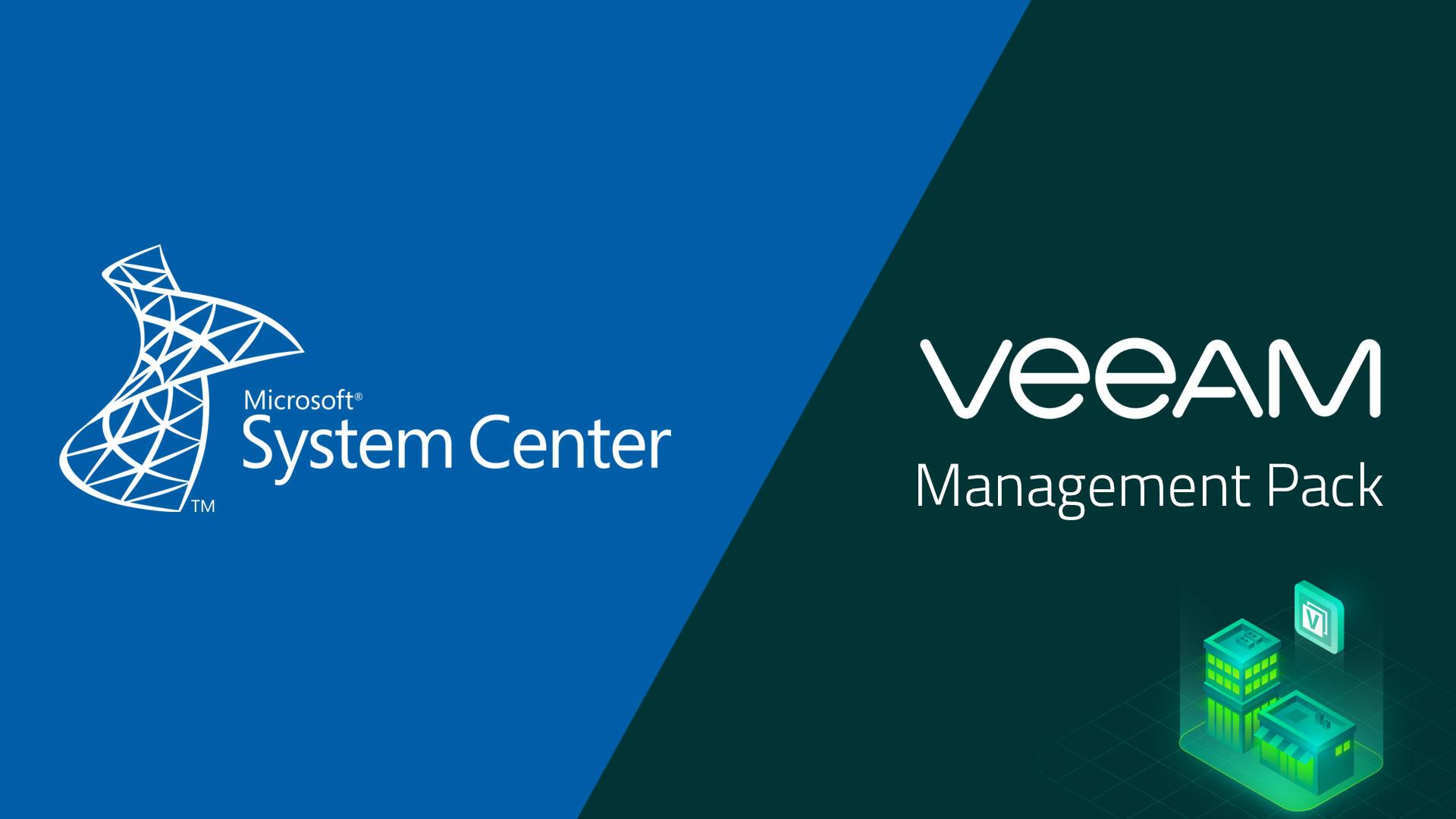 Veeam Management Pack