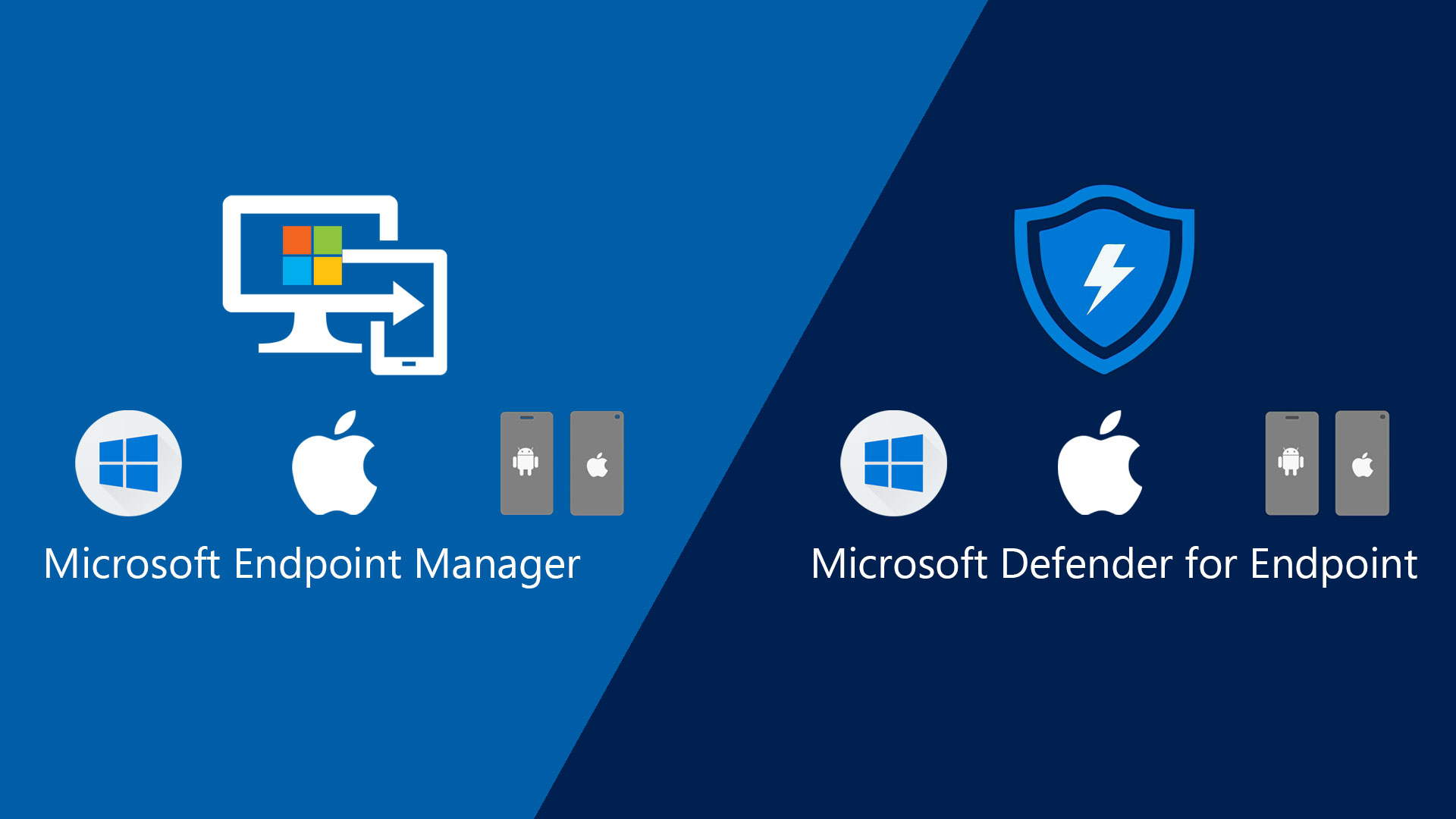 Microsoft Defender for Endpoint and Endpooint Manager